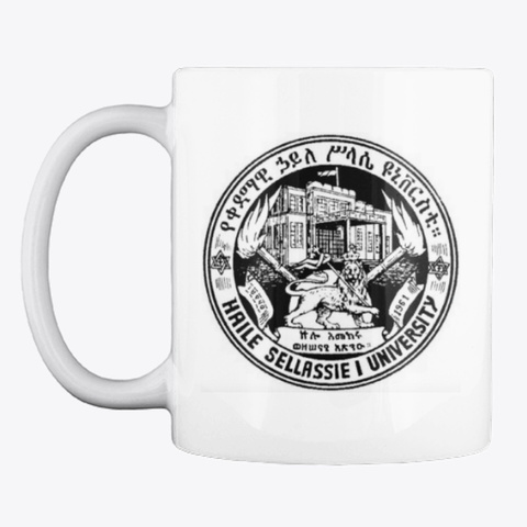Qedamawi Haile Selassie Classic  Mug White Mug Front