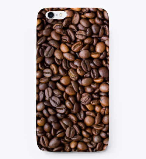 Coffee Beans Phone Cases Standard T-Shirt Front