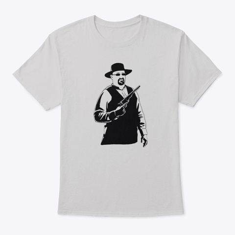 Classic T Shirt (Dustin) Light Steel T-Shirt Front
