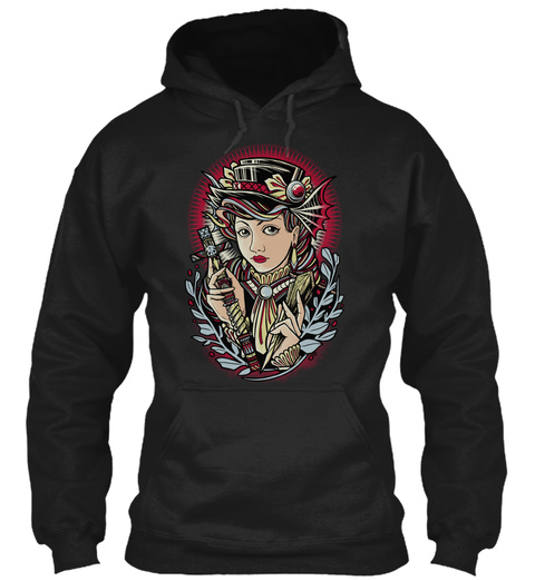 Vampirehunter Black Sweatshirt Front