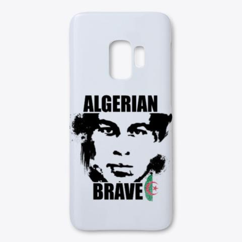 Algerian Brave White T-Shirt Front