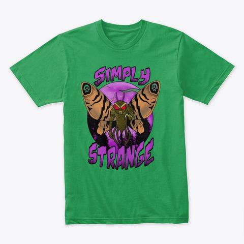 Mothman Tee Kelly Green T-Shirt Front