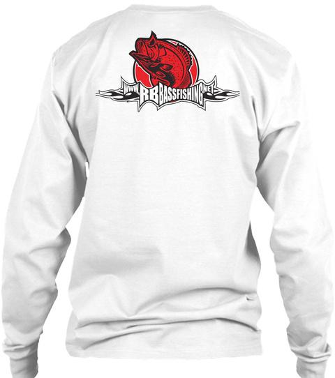 Www.Rbbassfishingnet White T-Shirt Back