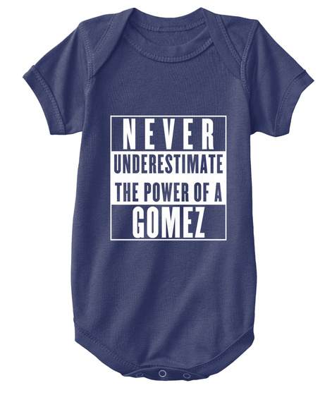 Gomez This Is My Power. Navy  T-Shirt Front