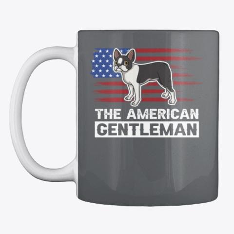 The American Gentleman Dark Grey T-Shirt Front