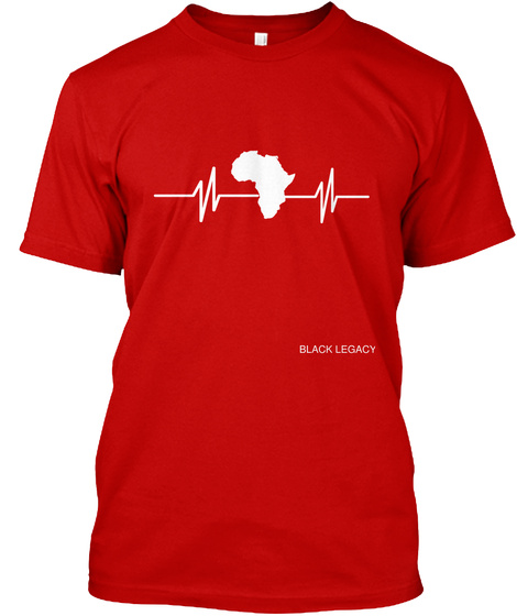Black Legacy Classic Red T-Shirt Front