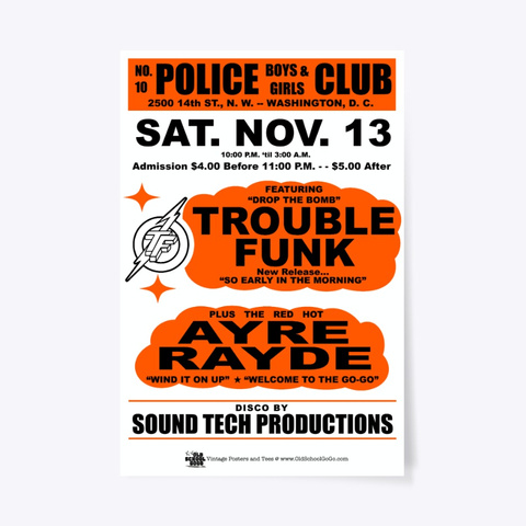 Trouble, Ar   Boys, Girls Club   Poster Standard Camiseta Front