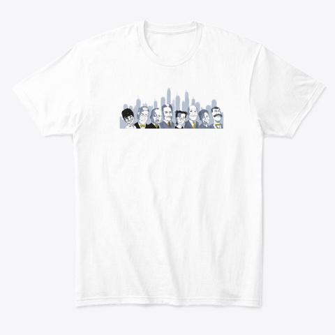 Dc Jont White T-Shirt Front