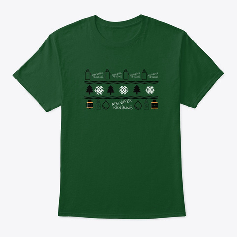 Christmas With Mbk Deep Forest T-Shirt Front