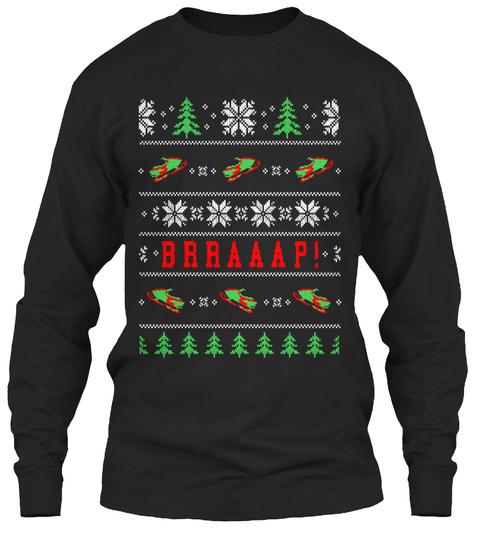 Brraaap! Black T-Shirt Front