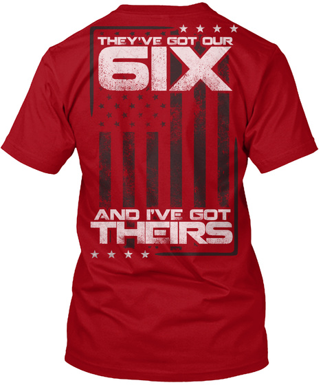 Red Friday: I've Got Their Six T-Shirt Back