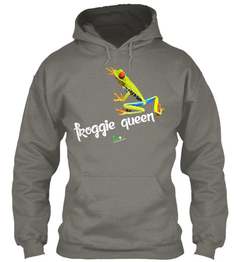 F Roggie Queen Charcoal T-Shirt Front