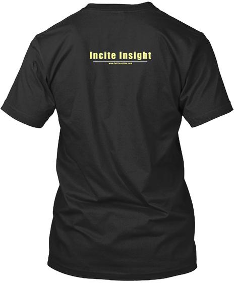 Black Lives Matter Sacramento Black Tee Black T-Shirt Back