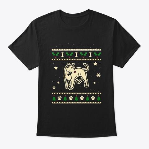 Christmas Telomian Gift Black T-Shirt Front