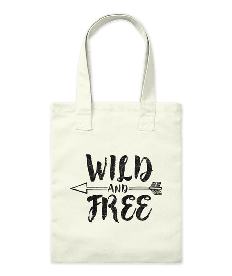 Wild And Free Natural áo T-Shirt Front