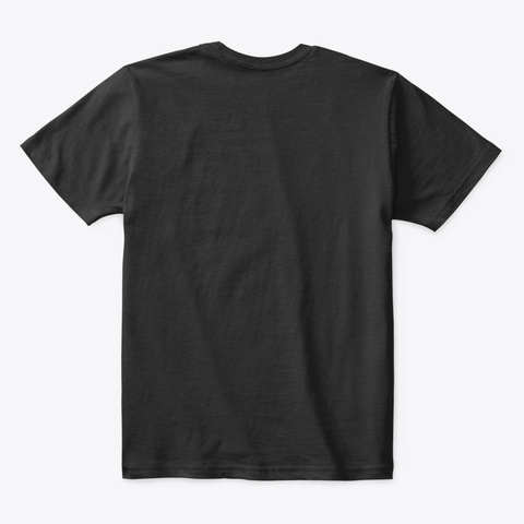 Childhood Cancer Black T-Shirt Back
