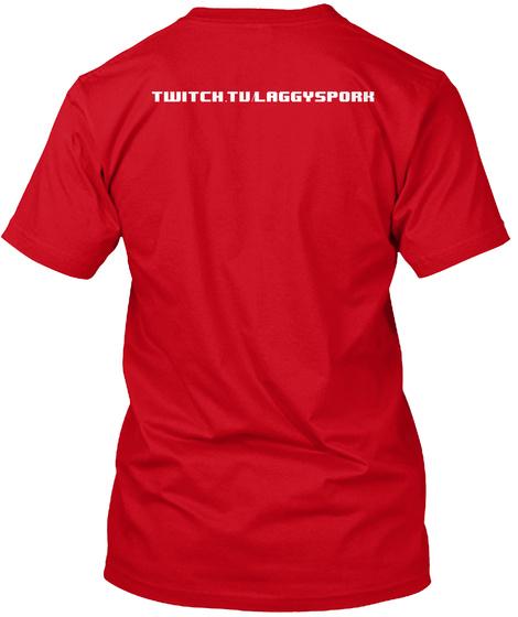 Sexy Beast   Laggy Spork Shirts Red T-Shirt Back
