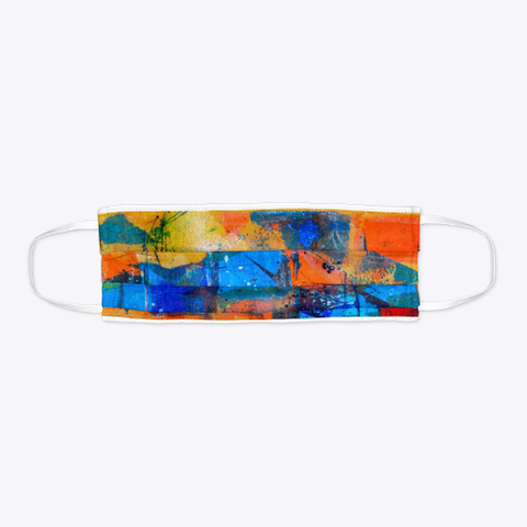 Abstract Art Standard T-Shirt Flat
