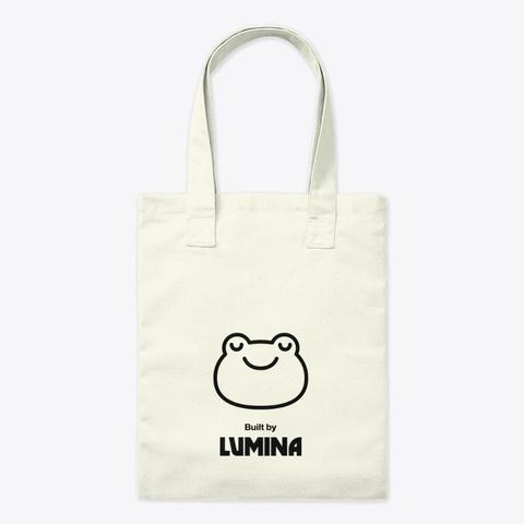 Lumina Tote Bag Natural T-Shirt Front