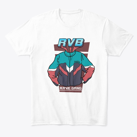 Rvb Tracksuit Style White T-Shirt Front
