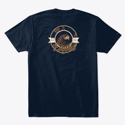 Adler1992 New Navy T-Shirt Back