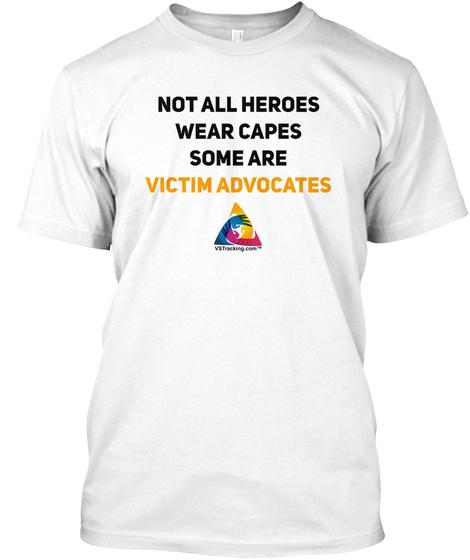 Nova Advocates 2 White T-Shirt Front