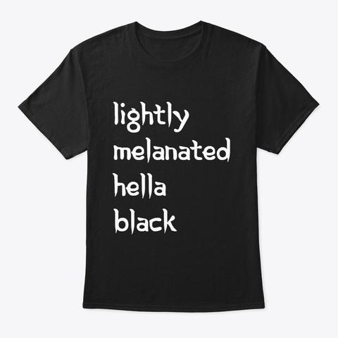 Hella Black (Official Shirt) Black T-Shirt Front