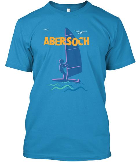Abersoch Sapphire T-Shirt Front