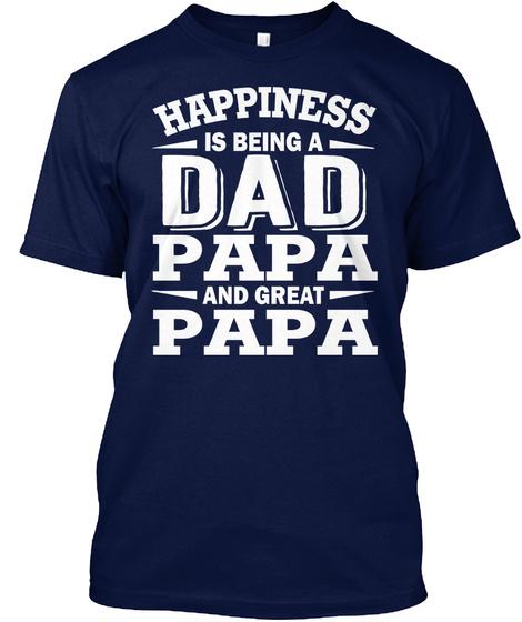 Dad, Papa And Great-papa Shirts