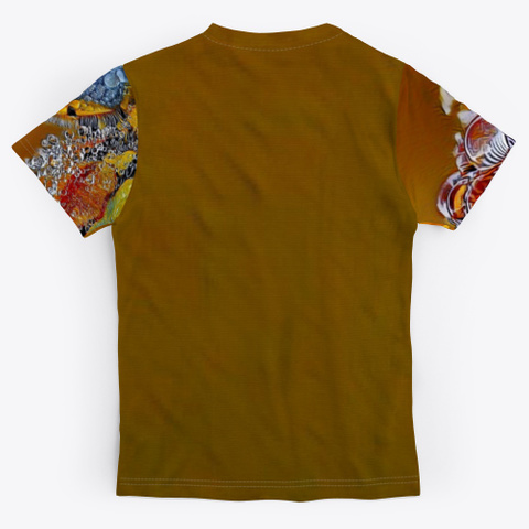 Abstract Art | Conglomeration Phazing Standard T-Shirt Back