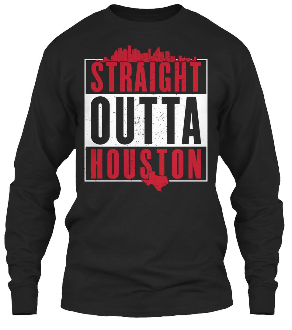 Straight Outta Houston Premium Unisex Sweatshirt