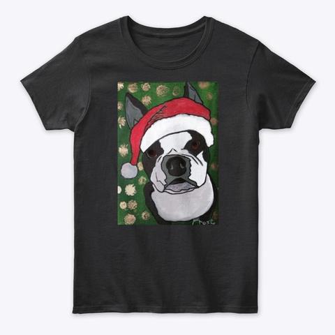 Happy Howlidays! Black T-Shirt Front