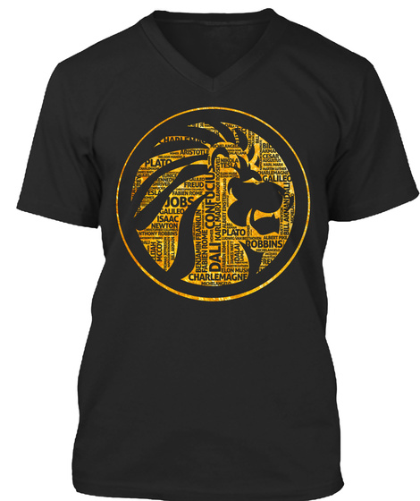 Embrace Your Inner Boss Black T-Shirt Front