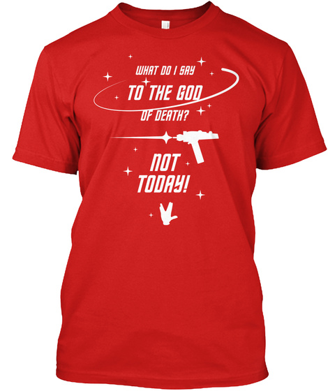 Brave Redshirt [Int] #Sfsf Red T-Shirt Front