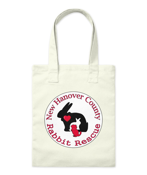 Nhc Rabbit Rescue Tote Natural Tote Bag Front