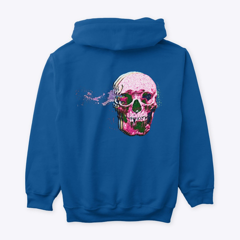 Colorful Death Royal T-Shirt Back