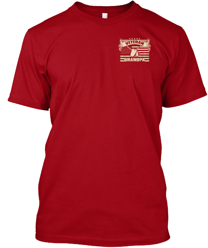 Latest-Veteran-Grandpa-I-M-Proud-To-Be-A-And-My-Oath-Hanes-Tagless-Tee-T-Shirt thumbnail 8