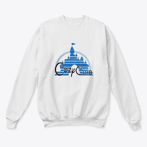 Cozy Gamer Merch! White  T-Shirt Front