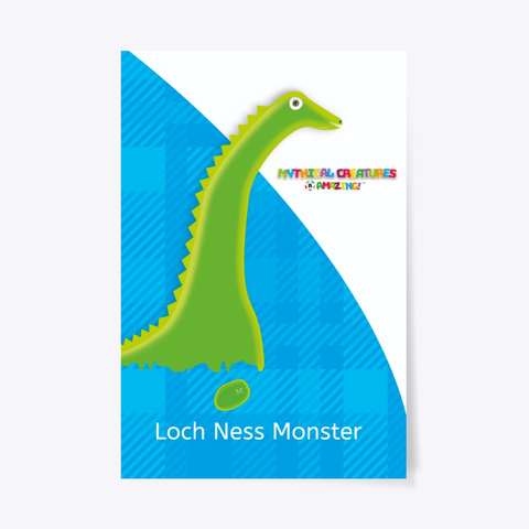 Loch Ness – 'R' Amazing Poster Standard T-Shirt Front