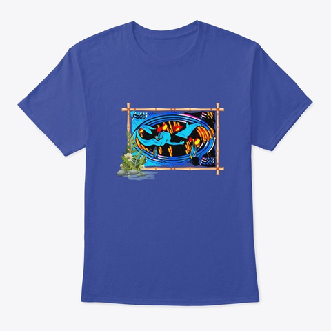 Friends Of The Sea Deep Royal T-Shirt Front