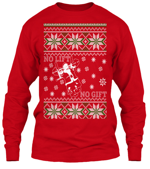 369f73fe6 NO LIFT_NO GIFT - Christmas ugly sweater