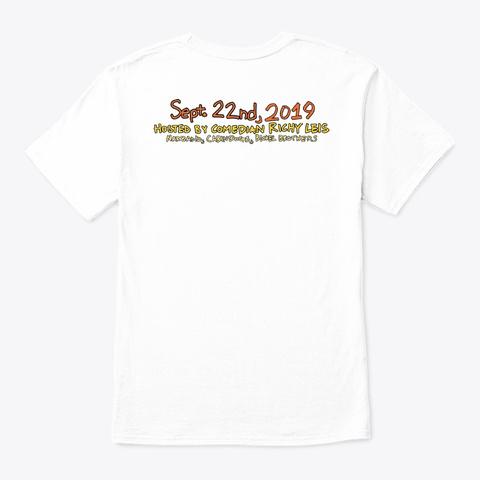 Narberth Festival Sept. 22 2019 White T-Shirt Back