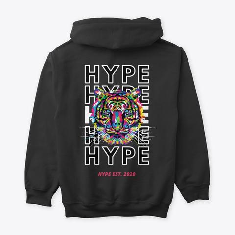 "Hype ""Tiger"" Black T-Shirt Back"