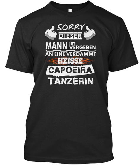 Capoeira Black T-Shirt Front