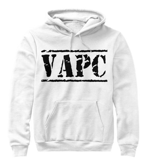 Vapc White T-Shirt Front