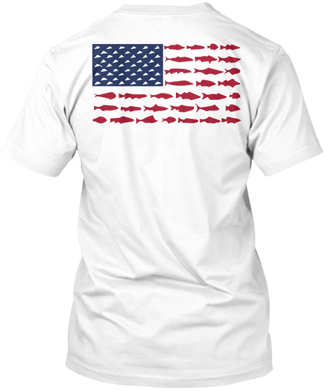 Download American Fish Flag Products from Fishing | Teespring