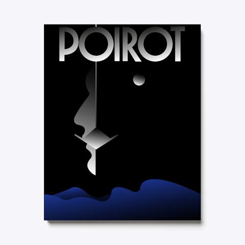 Poirot Black T-Shirt Front
