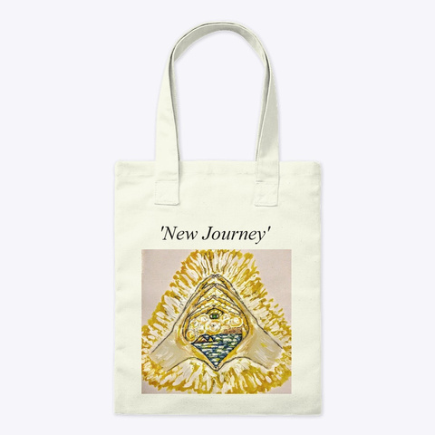 'new Journey' Natural T-Shirt Front