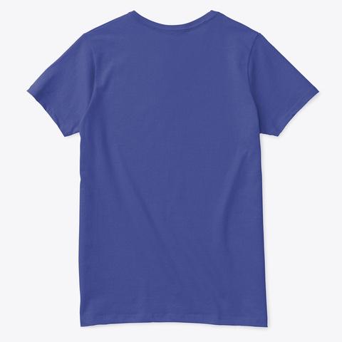 Everything's Okay | Soulful Shirt Deep Royal T-Shirt Back