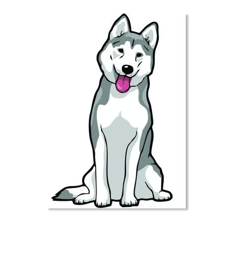 Husky Car Stickers 3